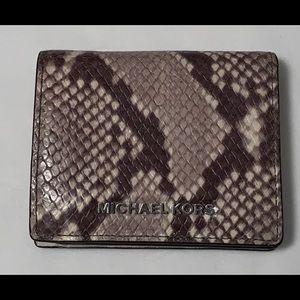 Michael Kors Python Wallet